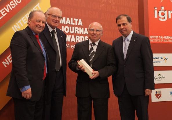 Joe Vella Gold Award 2014