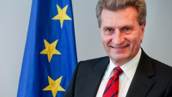 EU Commissioner for Digital Economy and Society Günther H. Oettinger